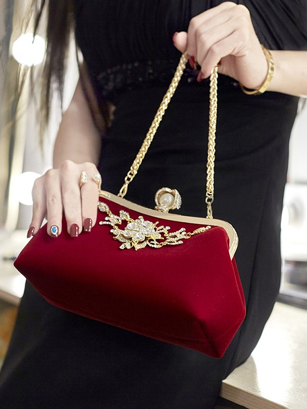 Elegant Rhinestone Evening/Party Handbags