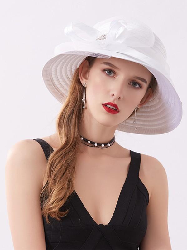 Ladies' Special Rhinestone Adjustable Beach/Sun Hats