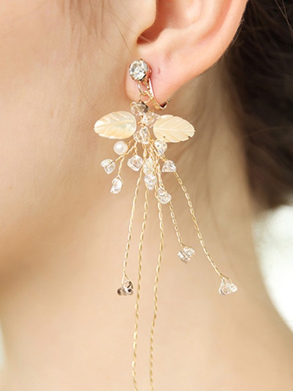 Dreamlike Alloy With Rhinestone Hot Sale Earrings