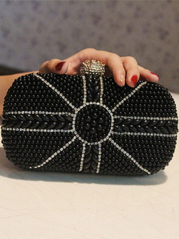 Trending Imitation Pearl Evening/Party Handbags