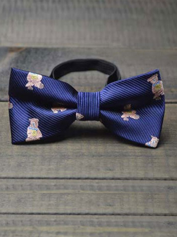 Cute Polyester Bow Tie For Children