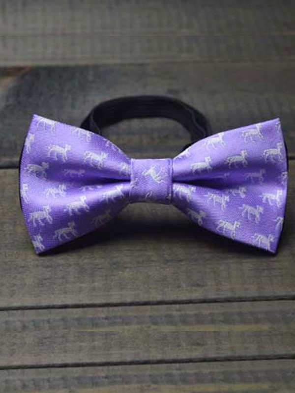 Classic Polyester Bow Tie For Children