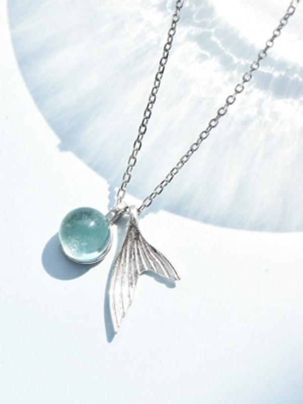 Women's Fancy S925 Silver Hot Sale Necklaces