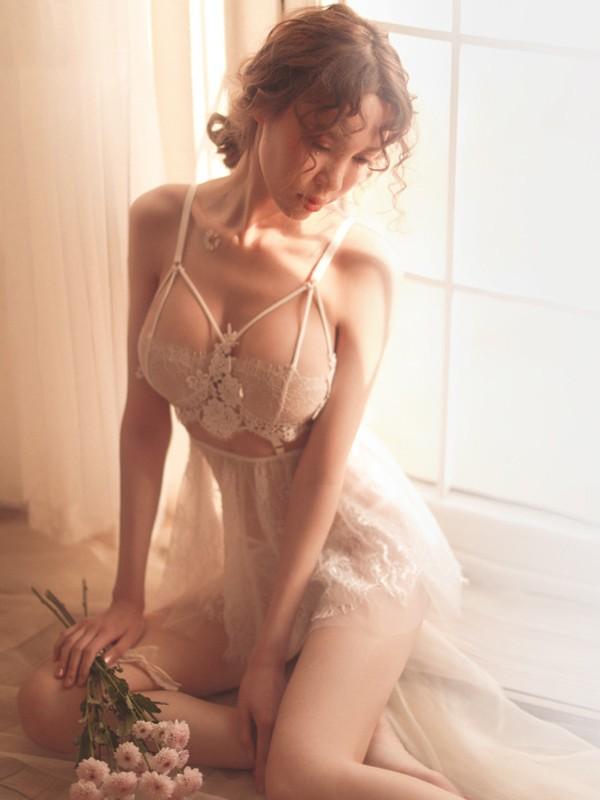 Sexy Terylene Thong Plus Size Night Wear