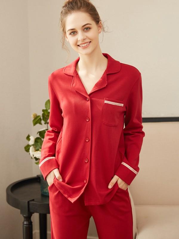 Suitable Cotton Pajamas Long Sets