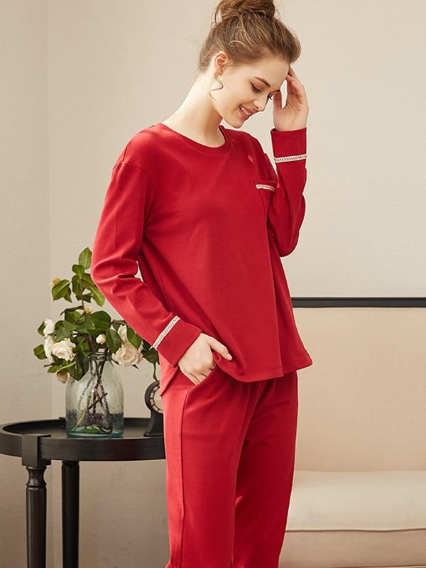 Cosy Cotton Pajamas Long Sets