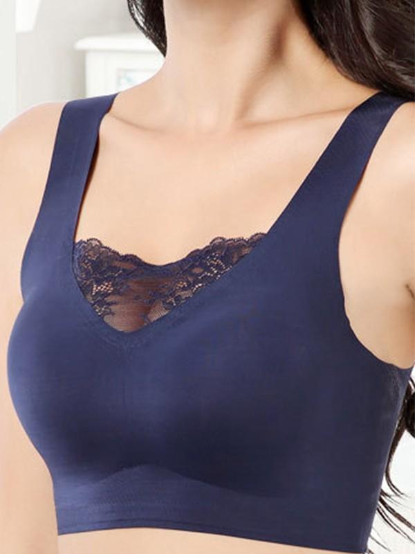Comfortable Lace Back Closure Bras