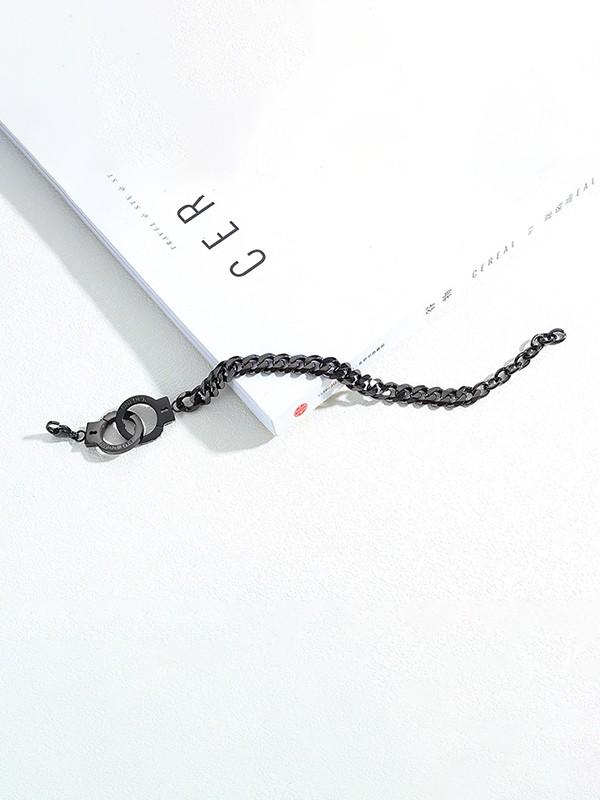 Trending Titanium Chain Bracelets For Men