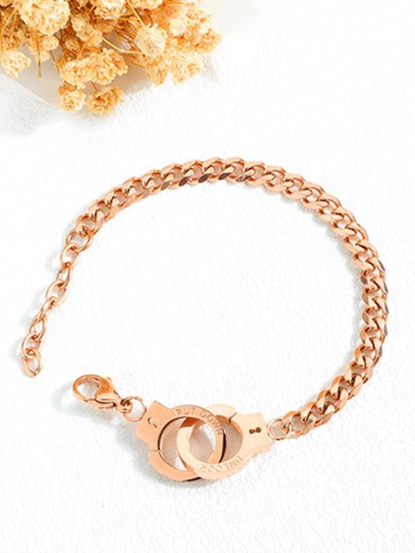 Fashion Titanium Chain Bracelets For Women