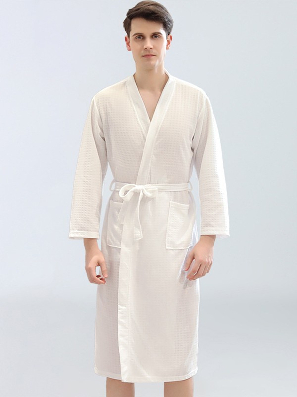 Comfortable Waffle Robes For Men