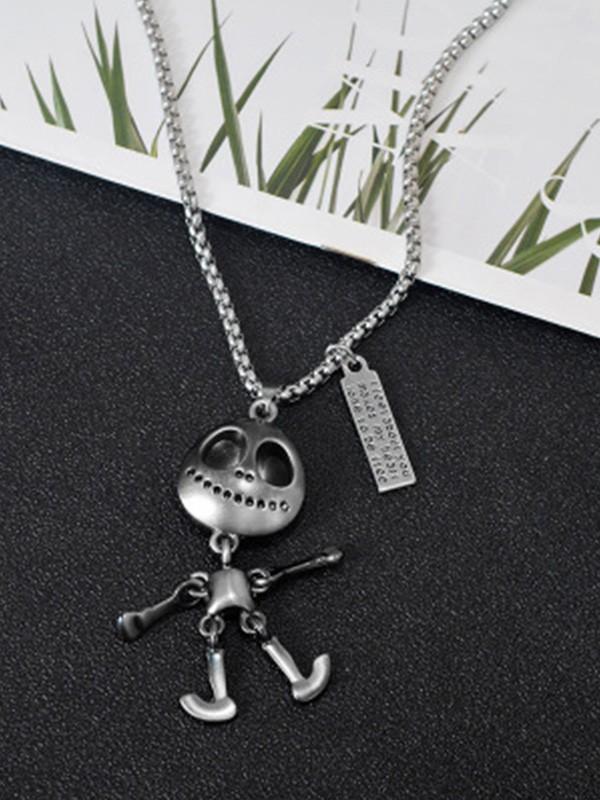 Unique Titanium Hot Sale Necklaces With Alien