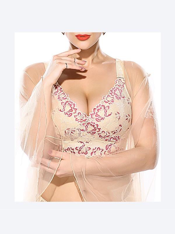 Gorgeous Cotton Back Closure Plus Size Bras
