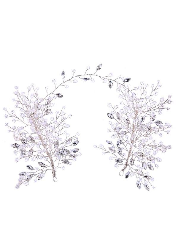 Glamorous Rhinestone Crystal Headpieces