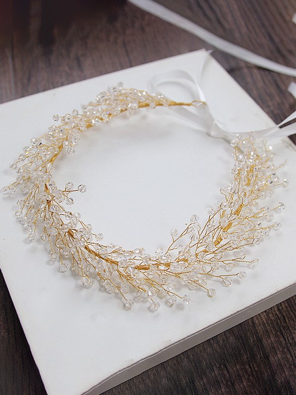 Brilliant Rhinestone Alloy Headpieces