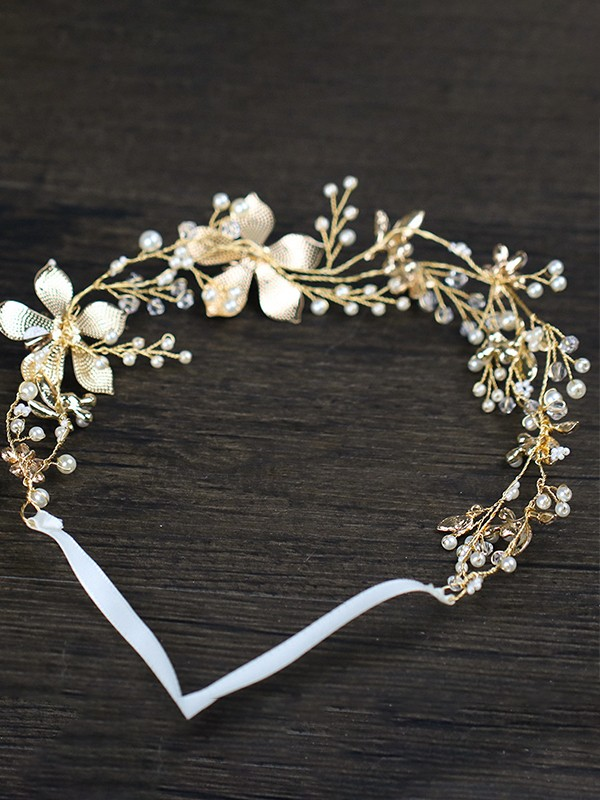 Amazing Flowers Alloy Headpieces