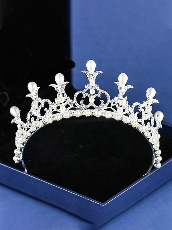 Amazing Rhinestone Alloy Headpieces