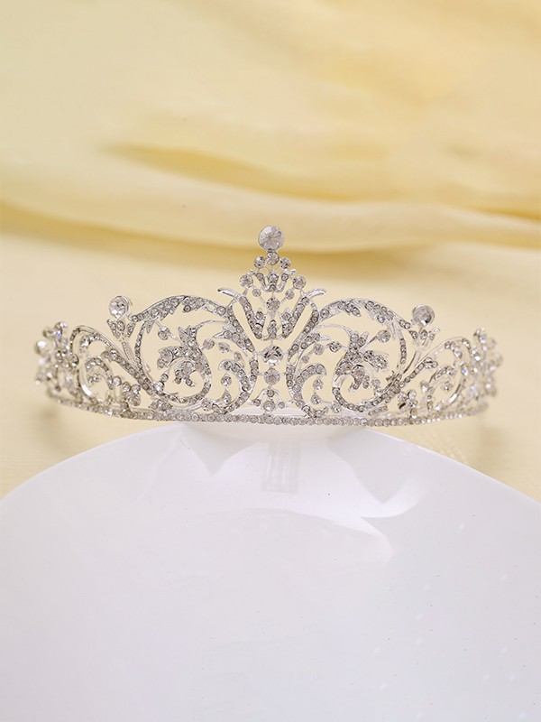 Lovely Rhinestone Alloy Headpieces