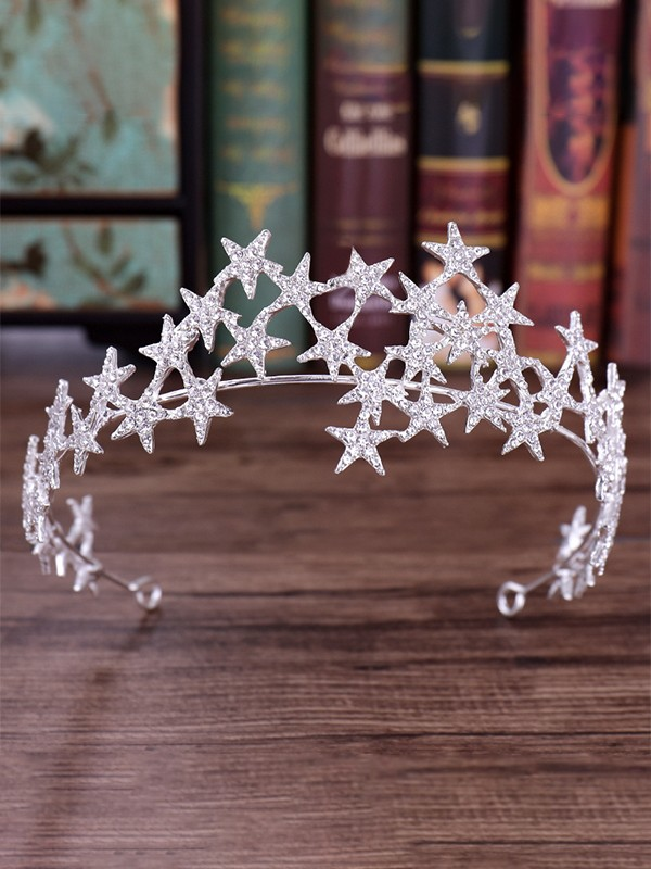 Fashionable Rhinestone Alloy Headpieces