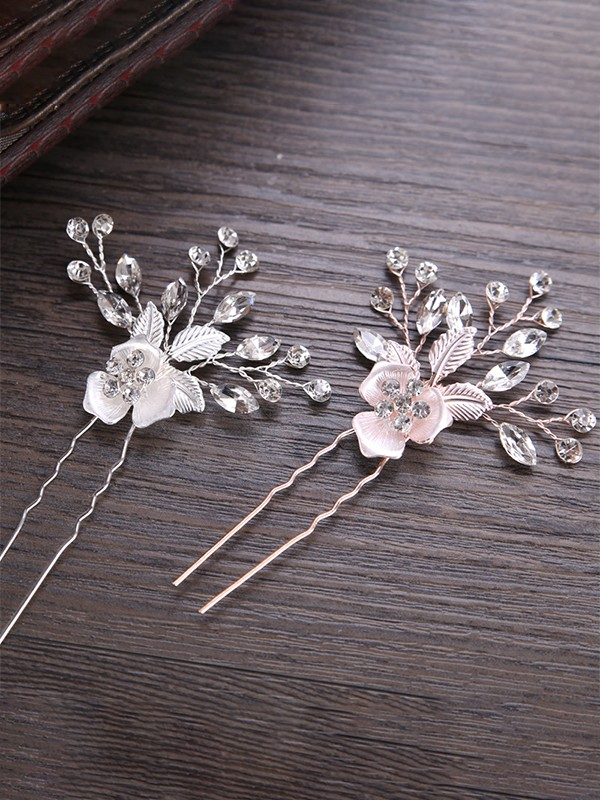 Very Elegant Flowers Alloy Headpieces