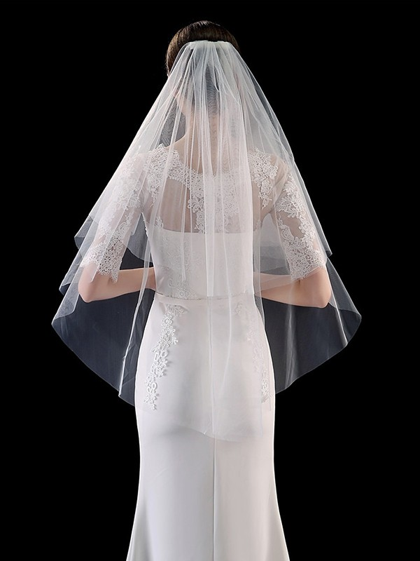 Simple Tulle Wedding Veils