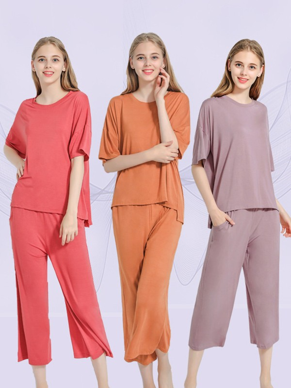 Soft Modal Pajamas Sets