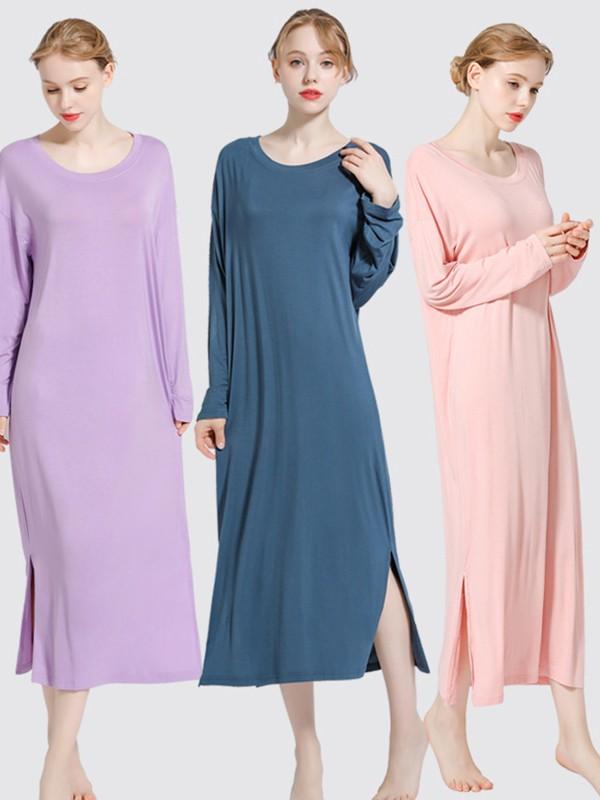 Modal Long Sleeves Pajamas