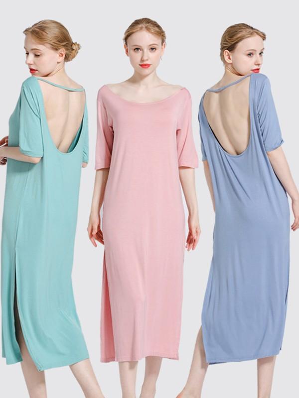 Backless Modal Pajamas