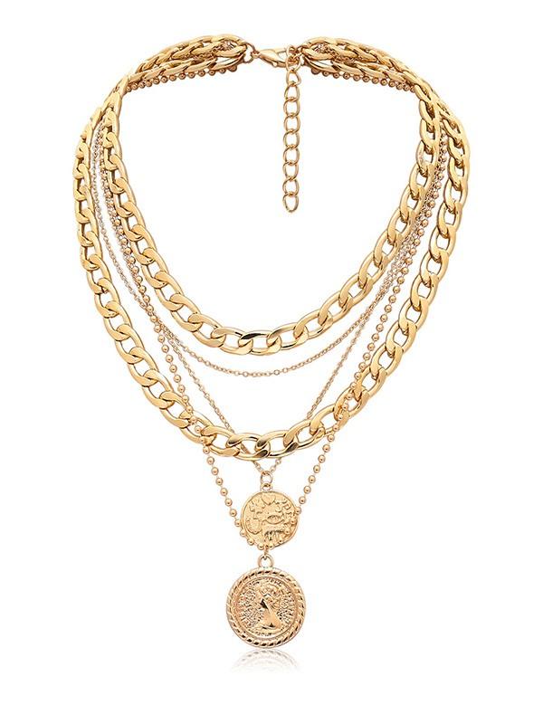 Vintage Alloy Women's Hot Sale Necklaces